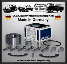 Vw Corrado 1.8 16V 136Bhp Coupe Rear Optimal Germany Wheel Bearing Kit