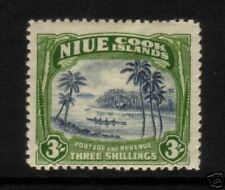 NIUE IS 1944 3/- PICTORIAL  MH SG 97
