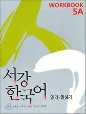 Sogang Korean 5A Workbook w/ CD Korean language Free Ship