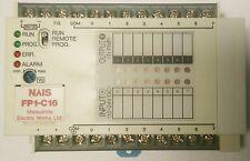 Panasonic PLC FP1-C16 ( AFP12153 ) CONTROL UNIT 24 VDC  ARDU PNP OUT