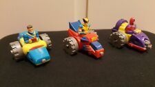 Vintage X Men Connectable Toy Cars Collectable Marvel Great Conditon