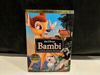 Bambi (DVD, 2005, 2-Disc Set, Special Platinum Edition) Brand New