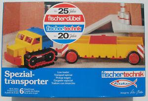 Fischertechnik 30452 - Spezialtransporter - Low loader - LKW - NEU&OVP - sealed