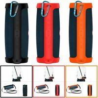 Silikon Tasche Schutz Hülle Sling Case Cover Skin Für JBL Charge 4 Lautsprecher