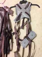 Attack on Titan 3D maneuvering gear and leather wrap and jacket