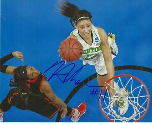 NATALIE ACHONWA Signed 8 x 10 Photo WNBA Basketball INDIANA FEVER Notre Dame