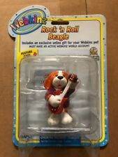 "Webkinz 3"" Figurine, Rock N' Roll Beagle With Secret Online Code By Ganz"