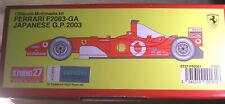 FERRARI F2003 GA F1 2003 GP SCHUMACHER  STUDIO27 1/20 MULTIMEDIA KIT TRUE