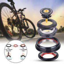 """1PC Bicycle Bearing Headset Fit For MTB 1-1/2"""" Tapered 1-1/8"""" Straight Fork Tube"""