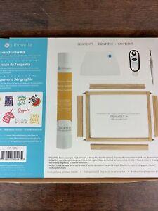 Silhouette Silkscreen Starter Kit-SILKKIT - open box