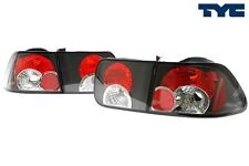 1996-2000 Honda Civic 2D Coupe Euro Tail Lights Black Housing by TYC