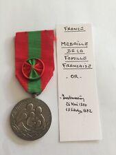 Médaille Famille Française (70-48/48)