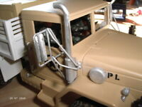 Rüstsatz für Heng Long WPL Truck, Typ B1 (4x4), RC Fahrzeug Zub., Maßstab 1:16