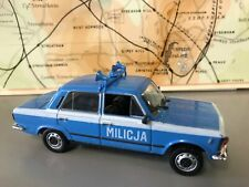 Fiat 125p Police Car  (1/43)..