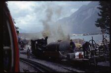 35mm slide BRB Brienz-Rothorn-Bahn Brienz Switzerland 1974 original
