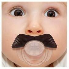 Stachifier Mustache Pacifier - The LADIES Man - Funny Binkie Plug WHOLESALE Cost