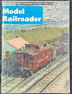 Model Railroader Magazine January 1971