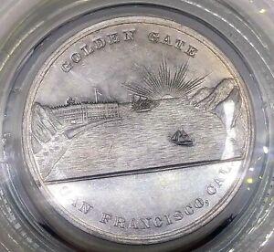 (1894) SO-CALLED DOLLAR CA MIDWINTER EXPO GOLDEN GATE SAN FRANCISCO