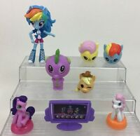 My Little Pony Figures Lot 8pc Girl Toys Friendship is Magic Hasbro McDonalds