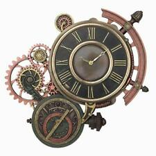 Steampunk Astrolabe Wall Clock - Home Accent
