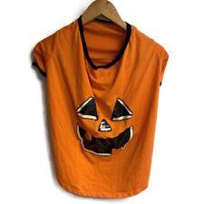 Halloween Dog T-Shirt Size Xl  Pumpkin Costume