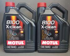 2 x 5 Liter Motul 8100 Motoröl 5W40 x-clean C3 vollsynthetisch VAG Porsche