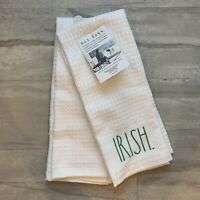 Rae Dunn St. Patrick's Day, LUCKY CHARM / IRISH. Kitchen Towels Set Of 2 NEW NWT