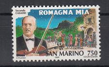 1996 SAN MARINO L. 750 STORIA CANZONE PER SECONDO CASADEI ROMAGNA MIA MNH**