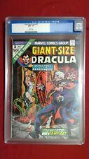 Giant-Size Dracula #2 CGC 9.2 White Pages Bondage Cover Marvel Bronze Age