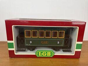 Lehmann Passenger G Gauge Train Car 3040 Austrian Coach 3rd Class New In Box