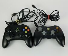 Original Xbox Wired Controllers S Lot 2 Mad Catz Untested Old Connection Style