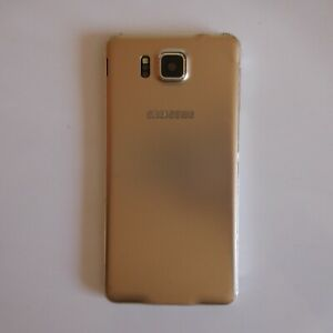 Smartphone factice SAMSUNG GALAXY ALPHA métal doré collection design XXIe N5126