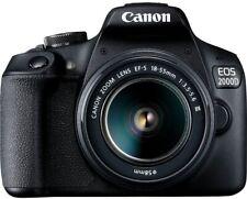 Canon EOS 2000D / Rebel T7 DSLR Camera w/ 18-55mm DC III Lens