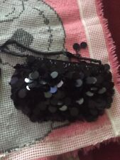 Black Sequinned evening bag By Atmosphere Fab Item-Going very cheap & stylish!!