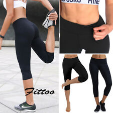 Womens Female Yoga Fitness Leggings Running Outfit Gym Stretch Sports Pants K012