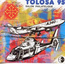 TIMBRE FRANCE BLOC FEUILLET CNEP N° 20 ** SALON PHILATELIQUE TOULOUSE / COTE 60€