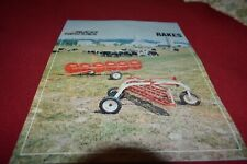 New Holland 1964 Haying Record Book Dealer/'s Brochure AMIL15