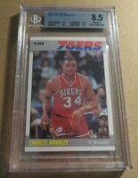 1987 Fleer Charles Barkley BGS 8.5 NM-MT+