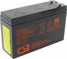 HITACHI CSB HR1224W F2F1 12V 24W (5Ah) High Rate Sealed Lead Acid UPS Battery