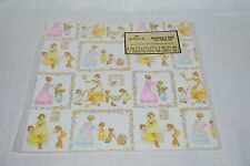 VINTAGE HALLMARK MOTHER DAY GIFT WRAP WRAPPING PAPER UNUSED