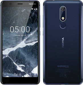 Original Nokia 5.1 Dual SIM Android 4G LTE 16GB ROM 2GB RAM 16MP Unlocked Phone