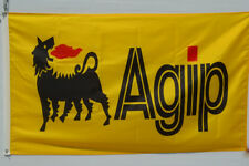 AGIP Racing Fuels And Lubricants Flag Banner 3X5Feet