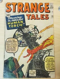 Strange Tales # 101 3.5-4.0  KEY BOOK!  First Human Torch Silver Age