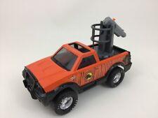 """Nylint Serengeti Game Control Die-Cast Steel 8"""" Pick-Up Truck Orange Toy 2001"""