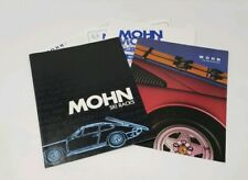1984 / 1985  Mohn Ski Rack Vintage Dealer  Brochure Lot - Porsche Ski Rack