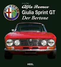 Alfa Romeo Giulia Sprint GT (Bertone GTA GTAm 105 Coupe Tipler) Buch book DEU