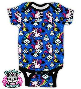 Harebrained Fantastically Gross Baby Romper Zombies Horror Kids One Piece