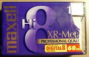 MAXELL XR-Metal 8mm Camcorder Videotape, 120 min