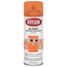 Krylon Glowz Orange Glow-in-the-Dark Spary Paint 6 oz.