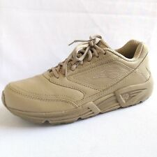 Brooks Addiction Walker Tan Leather Walking Sport SHOES Womens Size 10 Narrow 2A